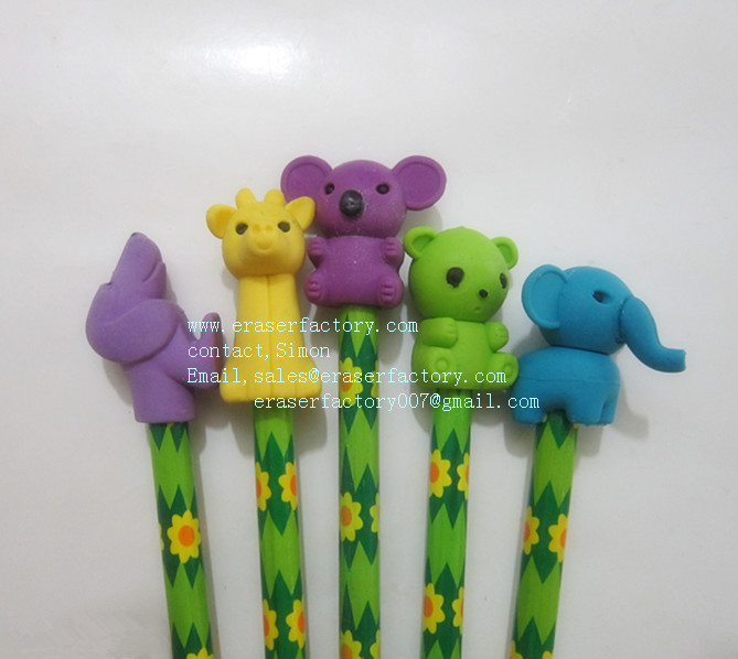 LXS109 Animal Pencil Toppers
