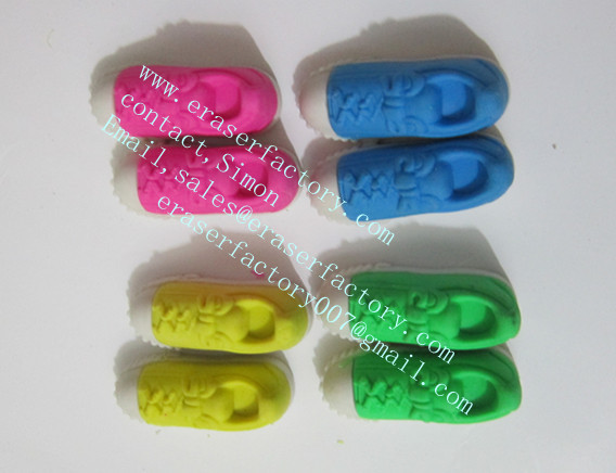 LX-029  sport shoes erasers