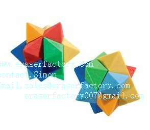 LXU22  New Visual Puzzle Erasers