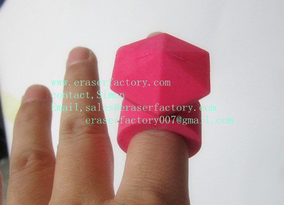 LX001  Princess Diamond Ring Erasers