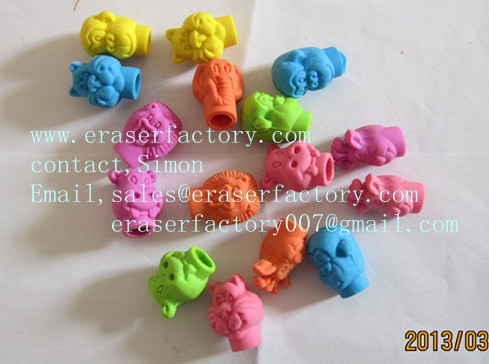 LX004  animal pencil toppers