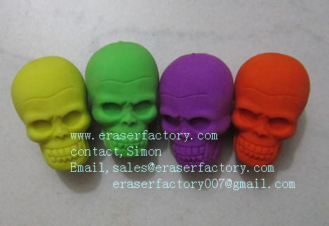 LXU11  middle skull erasers
