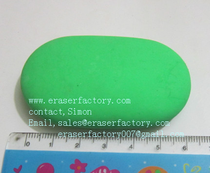 LXC10  oval erasers