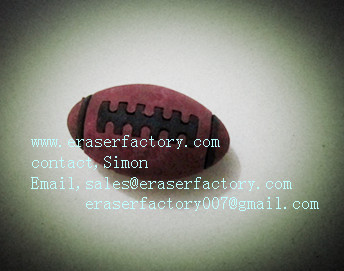 LXT28  Rugby sport erasers