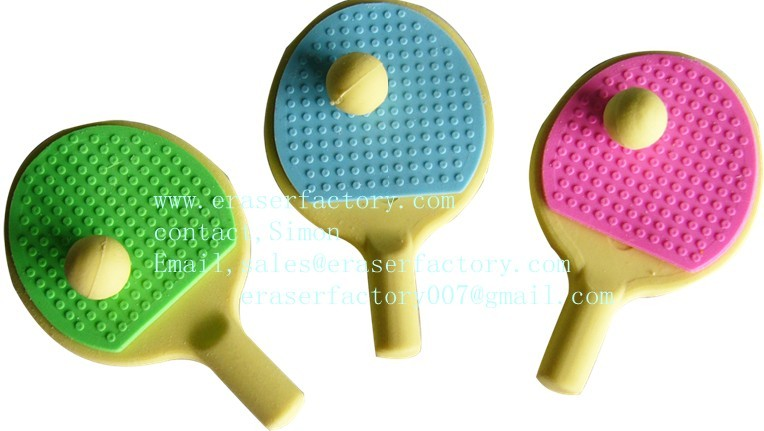 Ping-Pong sport erasers