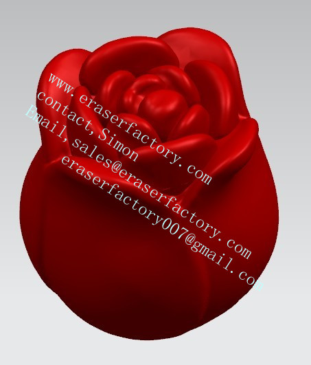 red rose OEM erasers