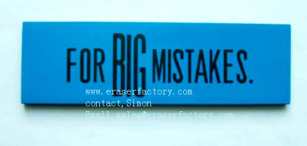 LXP19   for big mistakes rectanglar erasers