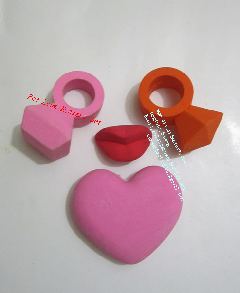 LXS30  Hot Love Erasers Set
