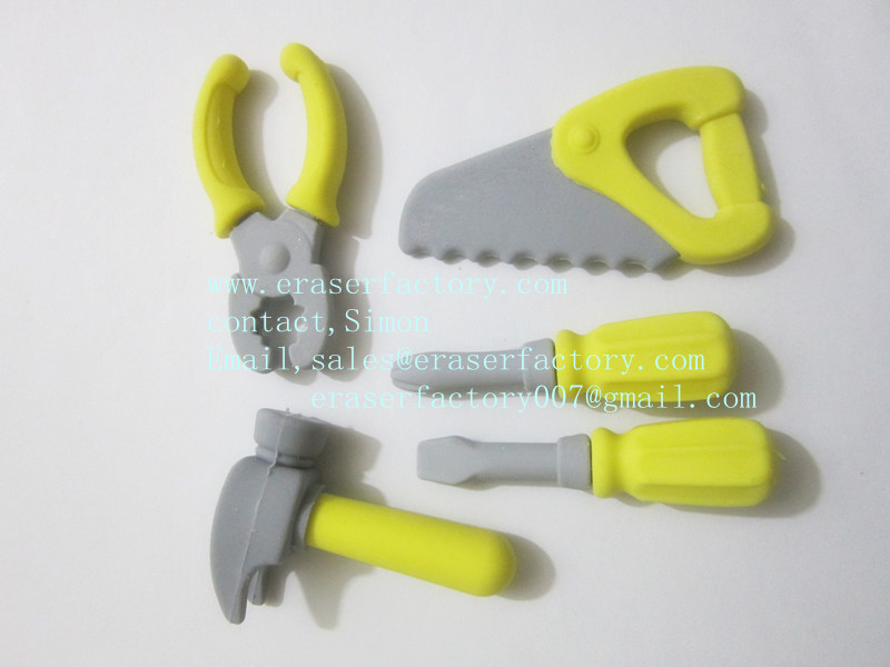 LXS71  Tool Erasers 5 kinds 3D