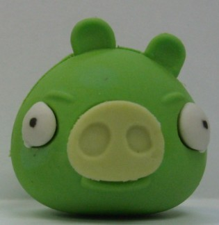 LXA157 Bad Piggies Erasers