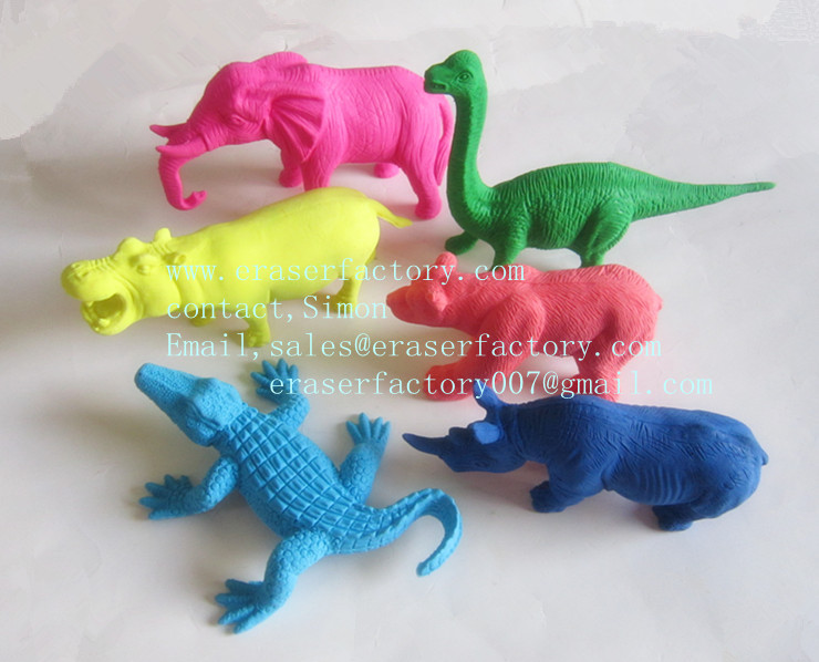 LXS100  Giant Animal Erasers