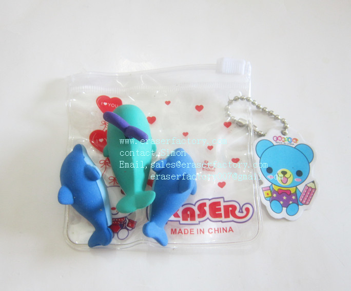LXN39  Sea Animals  Erasers
