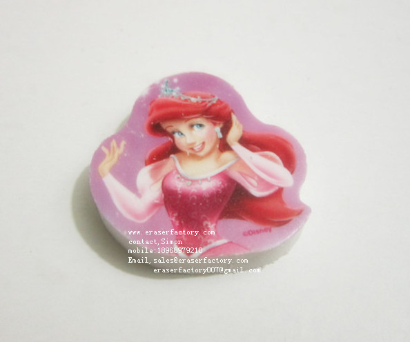 LXP76   OEM Disney Barbie doll Erasers