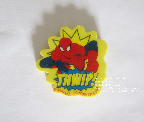 LXP59  Spiderman Erasers