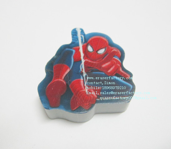 LXP91 Spiderman Erasers